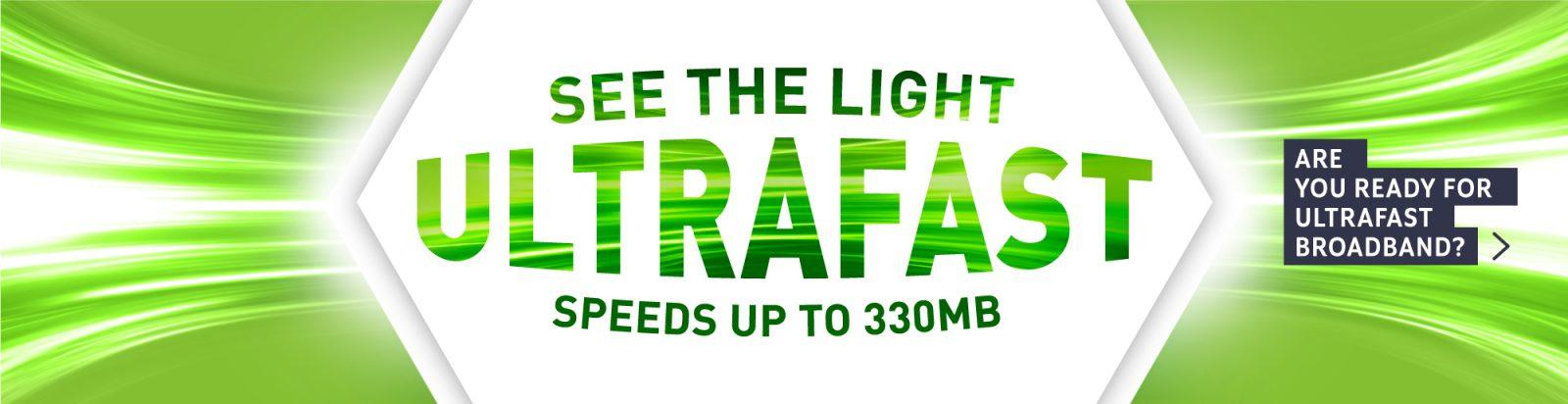 UltraFast Broadband Banner